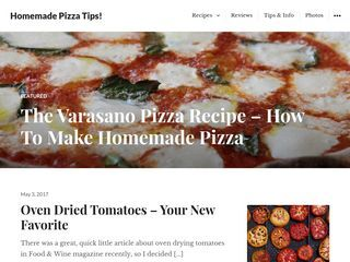 Homemade Pizza Tips!