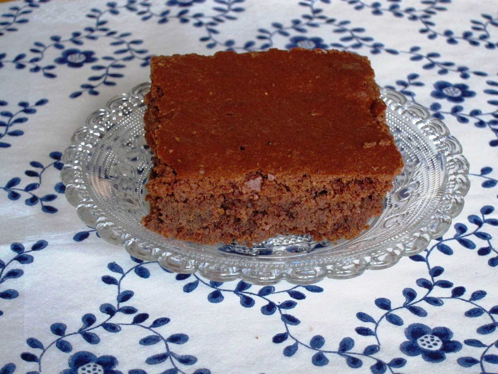 Maronen-Brownies/Chestnut Brownies