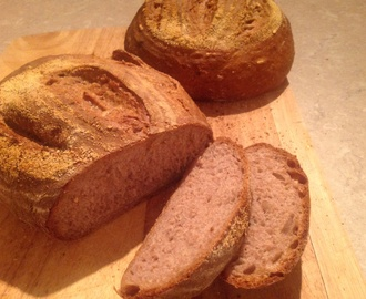 Apple, Walnut and Cider Bread