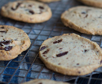 Boekweit 'chocolate chip' koekjes