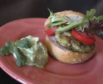 Mexican Street Food at Home:  Shrimp Burgers