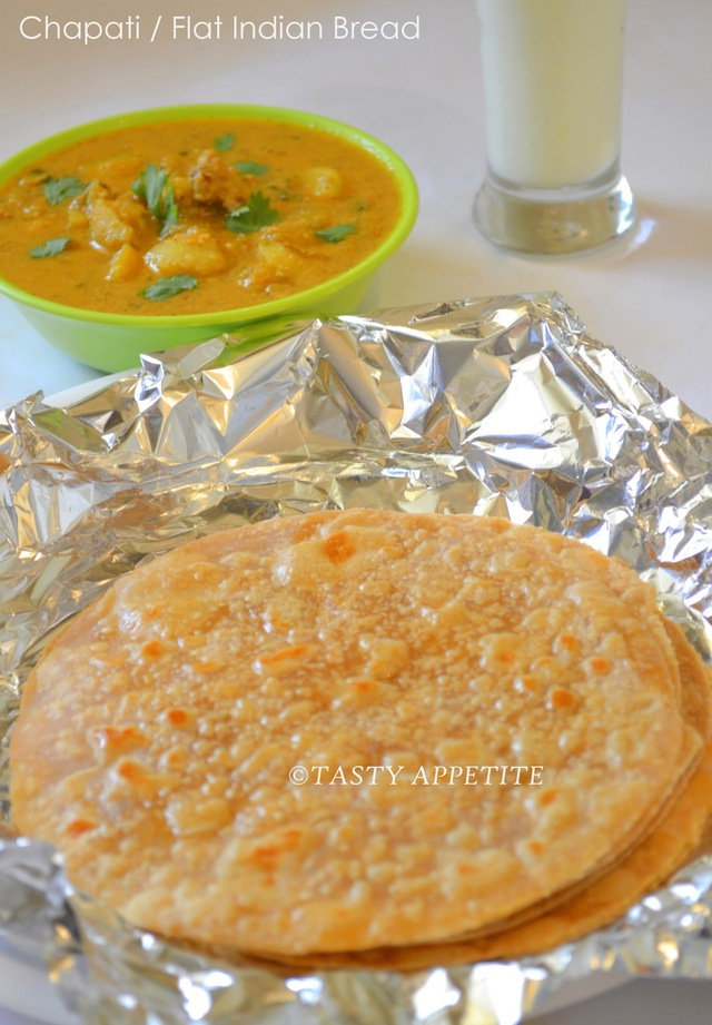 How to make Roti, Chapati ( Flat Indian Bread ) / step- by- step