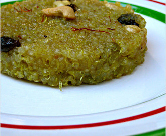 Quinoa Kesari / Sweetened Quinoa With Fruit And Nut