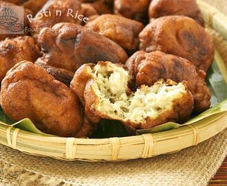 Guest Post : Biren from Roti n Rice featuring Kuih Kodok (Mashed Banana Fritters)
