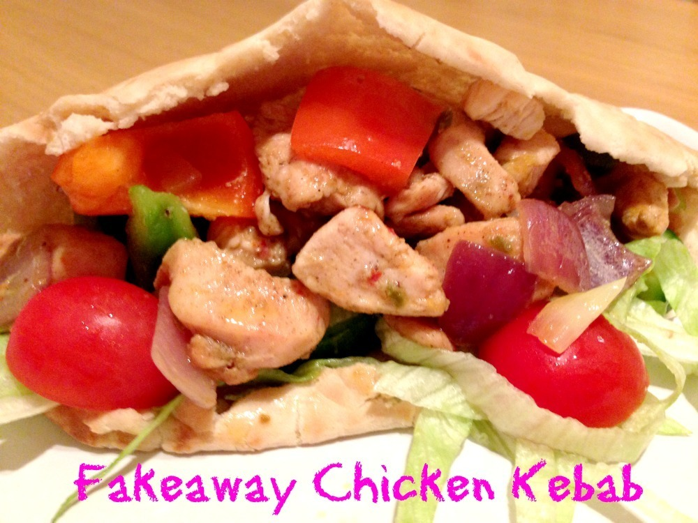 Family Favourites – Fakeaway Chicken Kebab