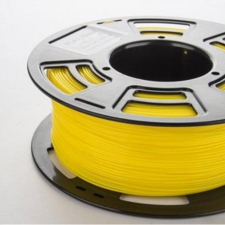 PLA filament til 3D printer, 1 kg, 1,75 mm. Gul