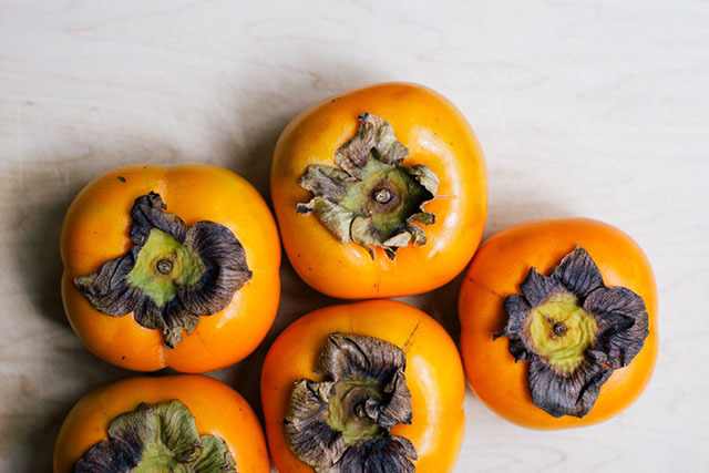 Persimmons, Four Ways