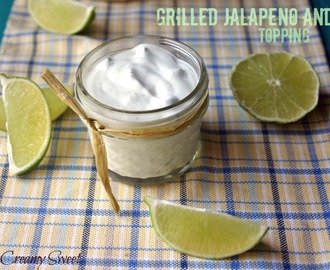 Grilled Jalapeno and Lime Topping