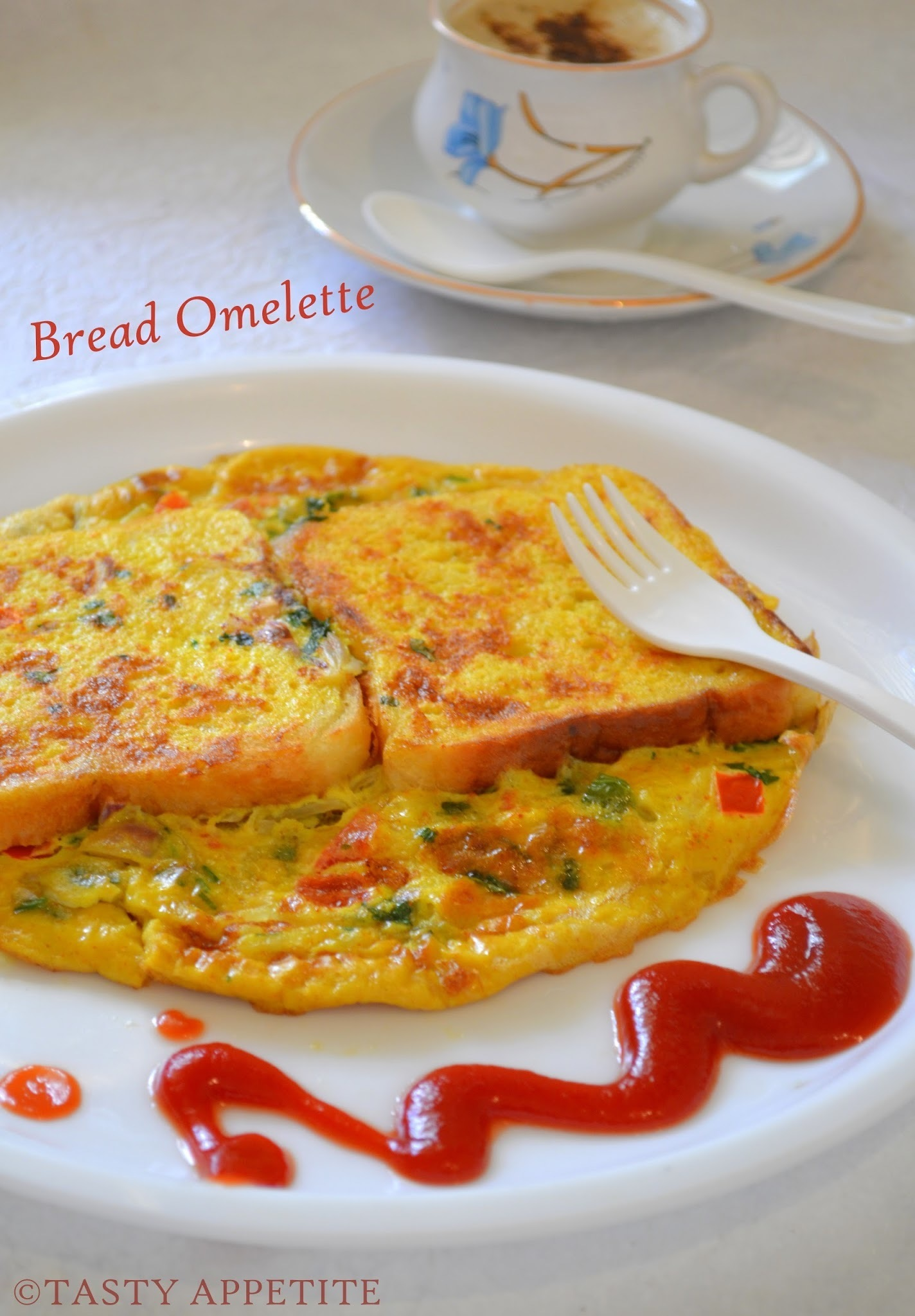 Bread Omelet /  Healthy Breakfast Menu / step by step: