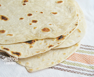 Flatbreads - pszenne tortille