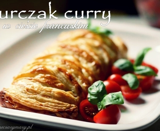 Kurczak curry we francuskim warkoczu