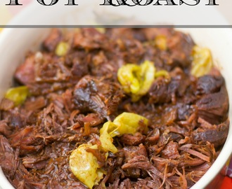 Mississippi Pot Roast Recipe Crock-Pot