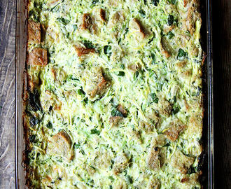 Summer Vegetable Strata | CSA Week 3