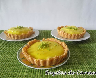 Tartaletas de lima (key lime pie)