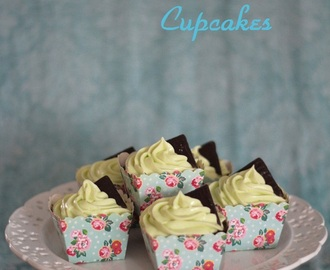 After Eight cupcakes