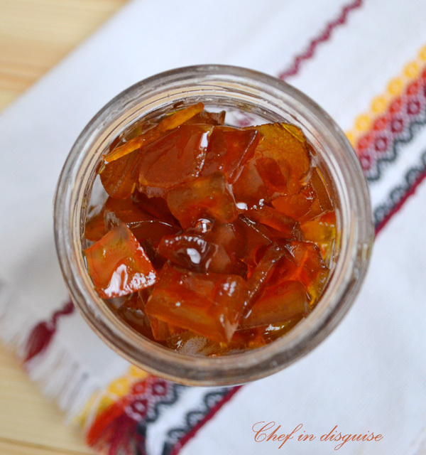 watermelon rind jam