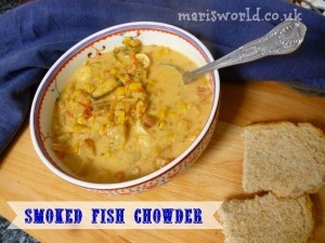 Smoked fish chowder recipe for the slow cooker