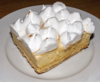 LEMON MERINGUE BARS - BARRITAS DE LIMÓN Y MERENGUE - ESPECIAL NAVIDAD