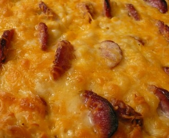Smoked Sausage Macaroni and Cheese