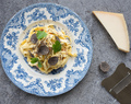 Truffled Fettucini Carbonara Recipe