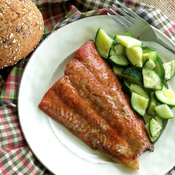 Bourbon Marinated Salmon – Easy Recipe!