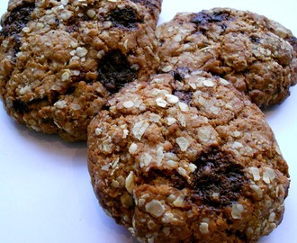 Recept: Crunchy chocolate cookies