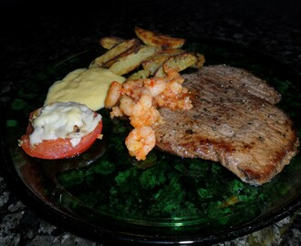 Home made Surf and Turf