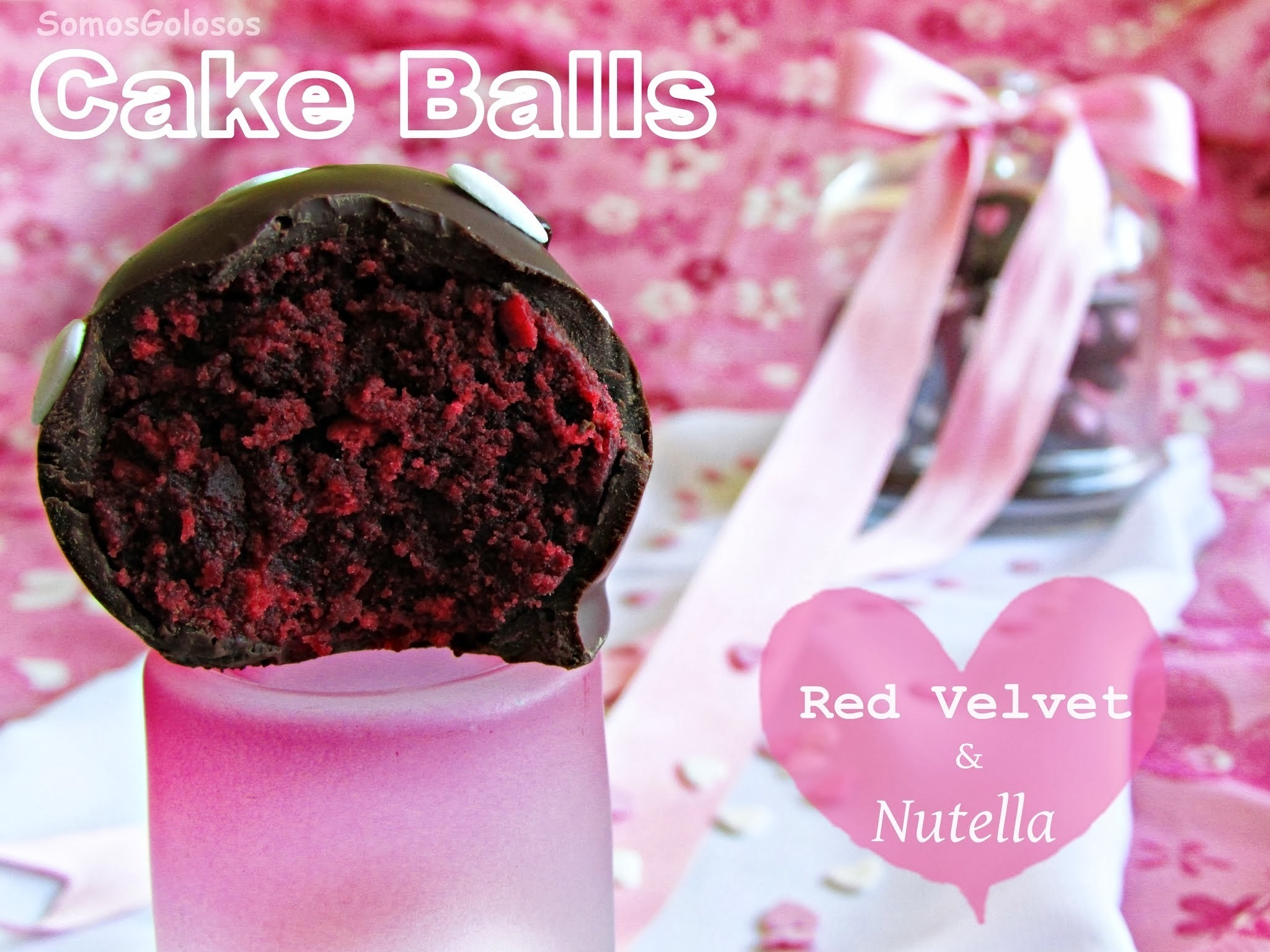 Cake balls {Red Velvet & Nutella}