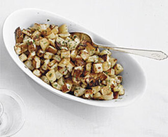 Roasted Turnips with Maple and Cardamom