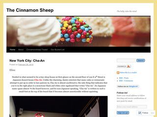 The Cinnamon Sheep