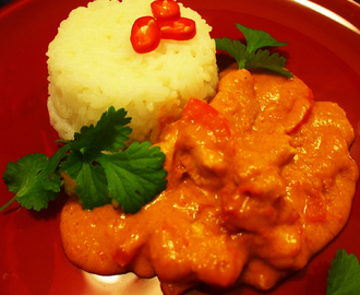 Thaimaalainen Red Curry