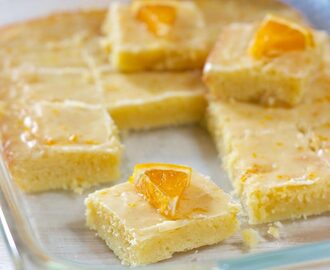 Glazed Orange Bars