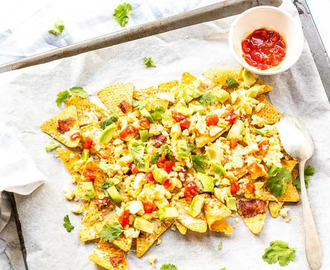 Easy breakfast nachos