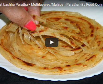 Lachha paratha Recipe Video