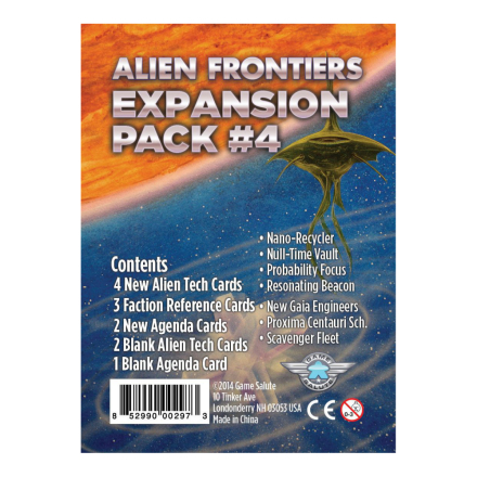 Alien Frontiers: Expansion Pack 4, 5 & 6 (Exp.)