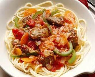 Chicken Livers in Italian Tomato Sauce