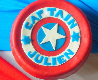 Match Monster High contre Captain America