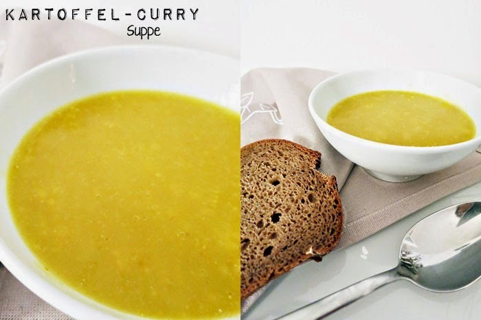 Kartoffel-Curry Suppe
