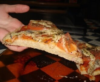 Massa de Pizza de Liquidificador