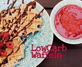 low carb waffel rezept {geht auch in normal} ...