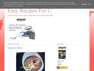 Easy  Recipes For  U