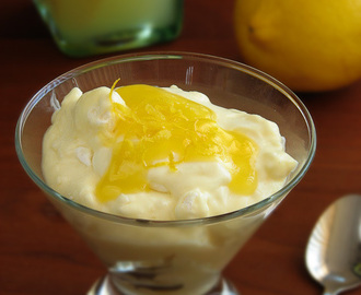 Lemon meringue fool
