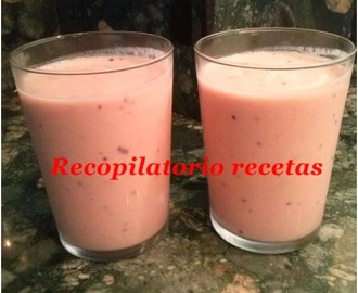 Batido tropical light en thermomix