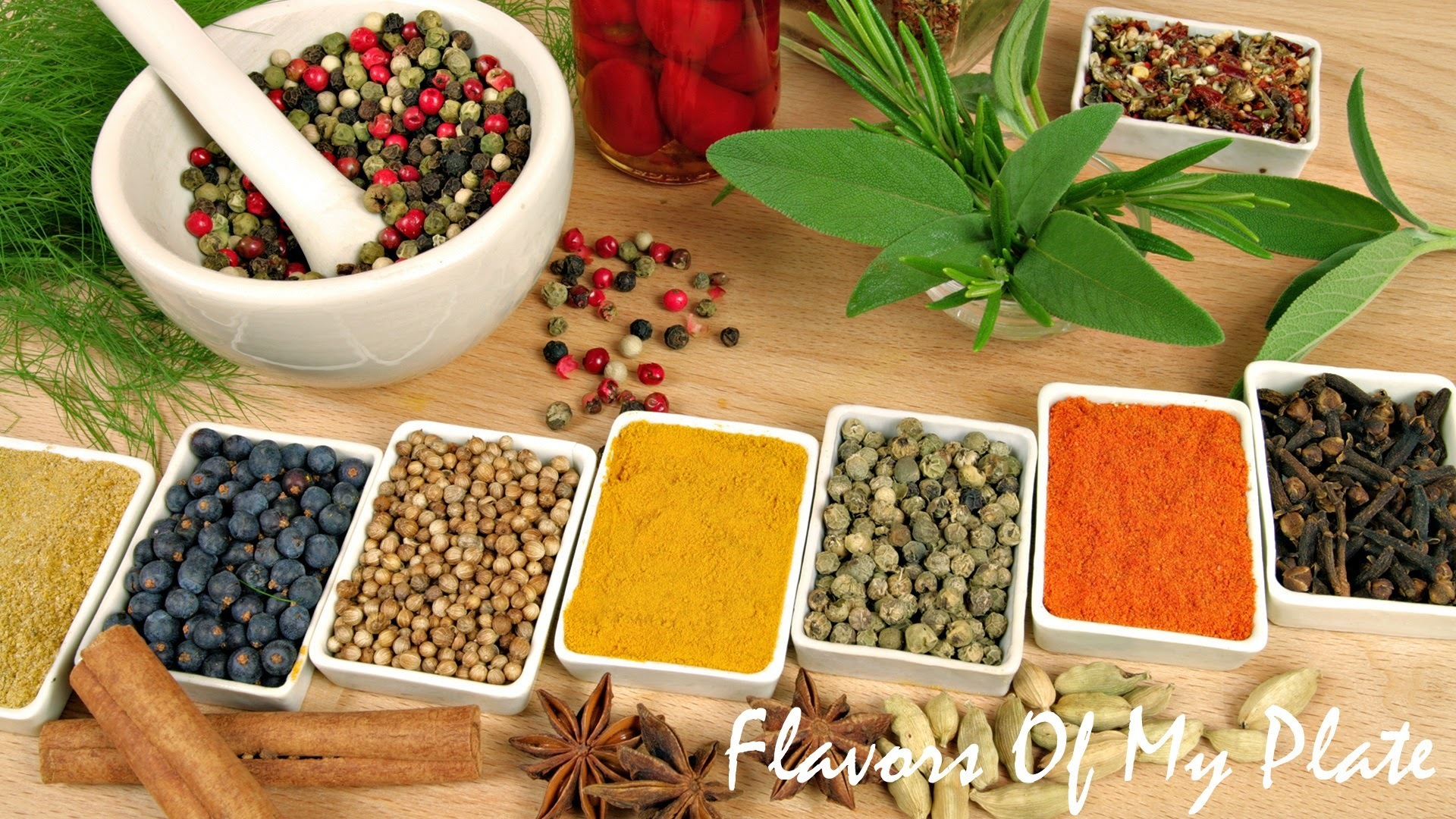 Indian Spices.....The Heart Of Any Indian Dish