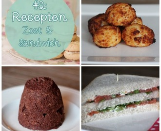 Recepten Summer High Tea | Kokosmakronen, Mugcake & Sandwiches