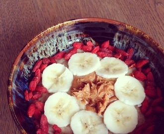 Banana Peanut Butter Oats
