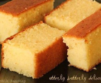 Butter Cake - Simply Delicious!!