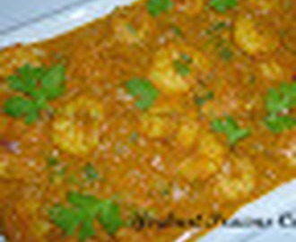 Yoghurt Prawns Curry/ Masala