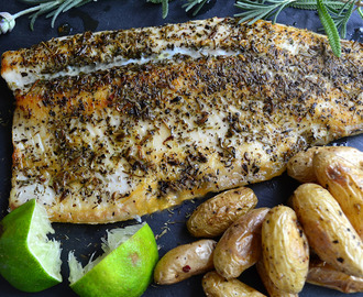 Pan Fried Trout with Herbes de Provence
