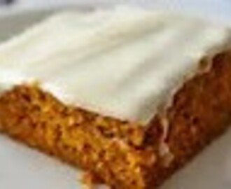 OLD FASHION PUMPKIN BARS